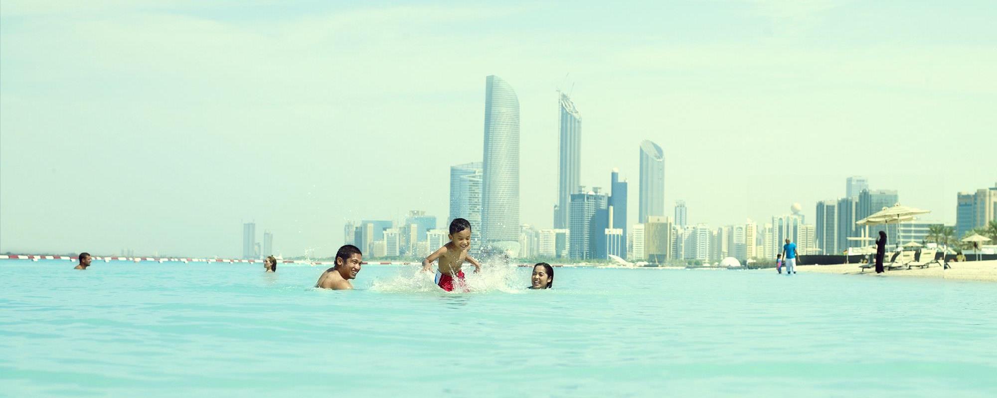 Corniche Beach Visitabudhabi Ae