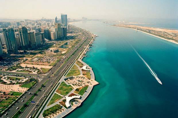 Corniche From Above