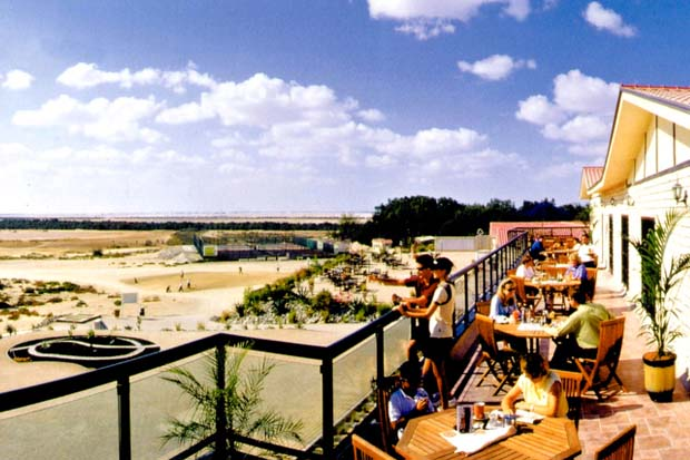 Al Ghazal Golf Club Top Terrace