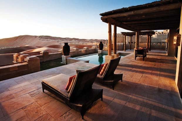 Qasr Ar Sarab Villa View
