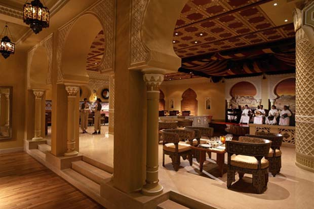 Marakesh Restaurant, Millennium Hotel Abu Dhabi