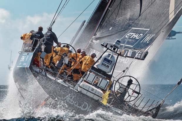 Volvo Ocean Race Fleet starts leg 4 to New Zealand