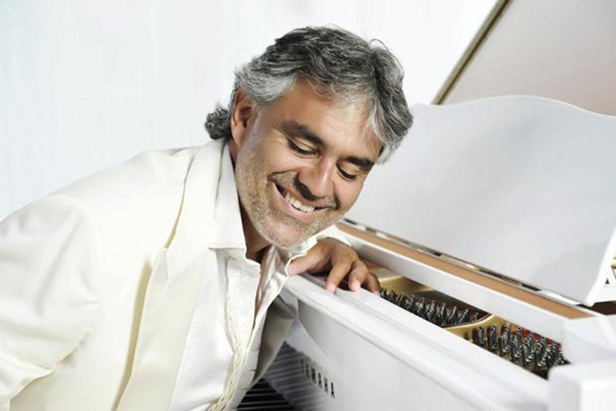 Andrea Bocelli LIVE on Yas