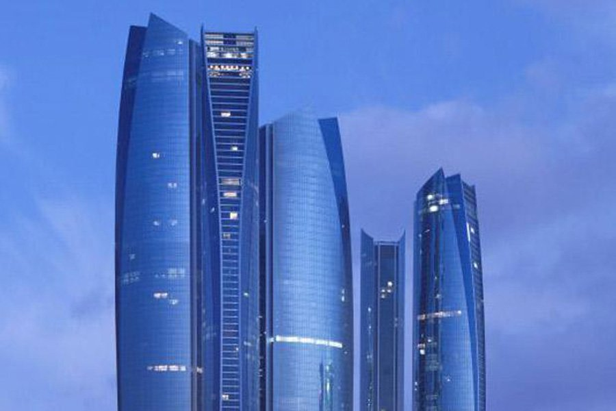 etihad towers height