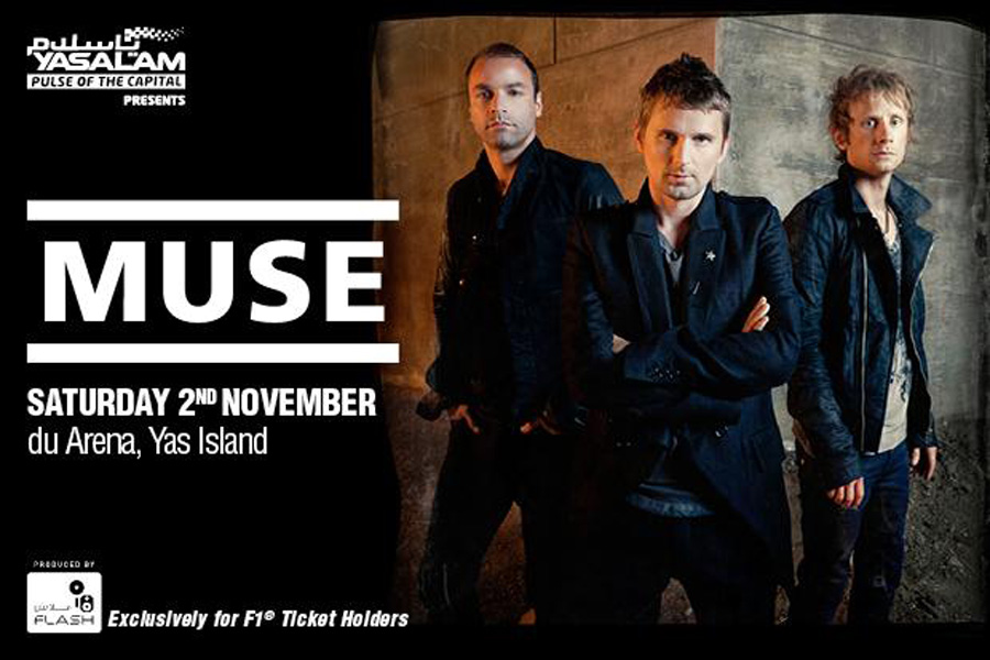 Yasalam After Race Concert: Muse