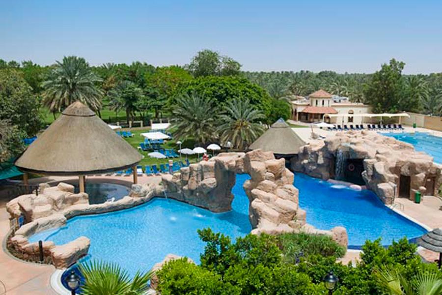 Oasis Pool Bar Danat Al Ain Resort Visitabudhabi Ae