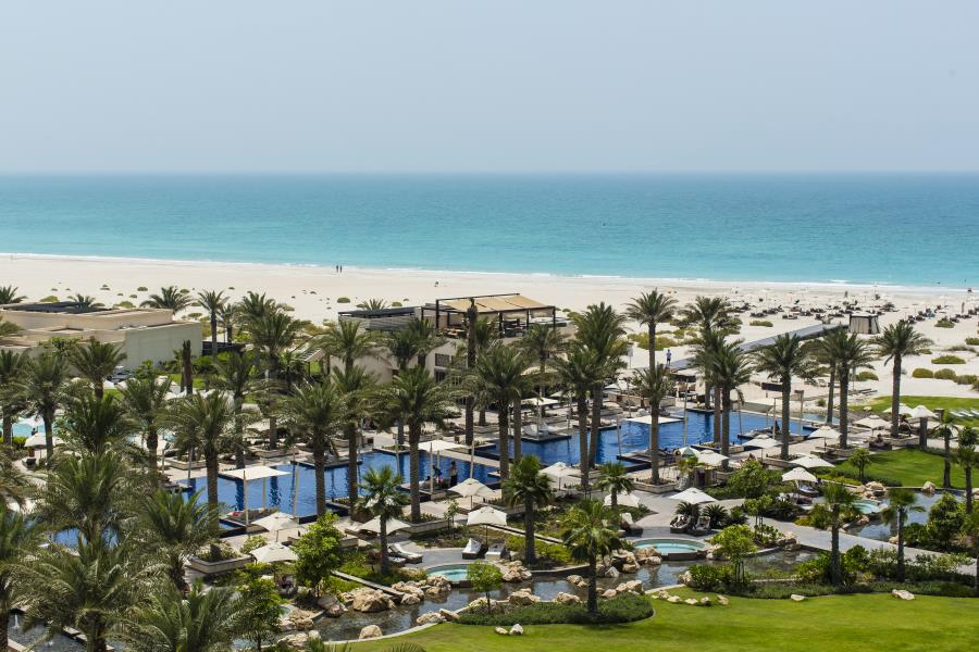 Abu Dhabi Hotels Am Strand