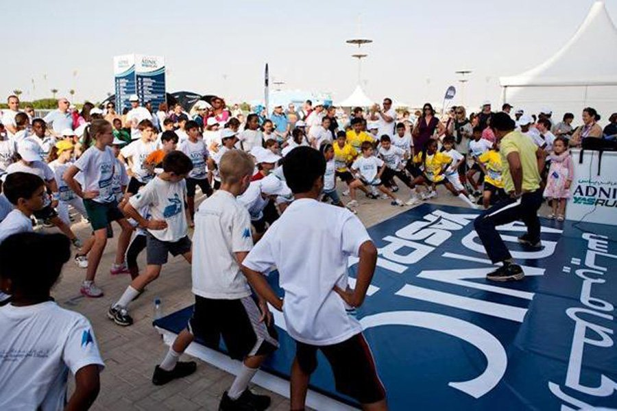 ADNIC Yas Run 2012