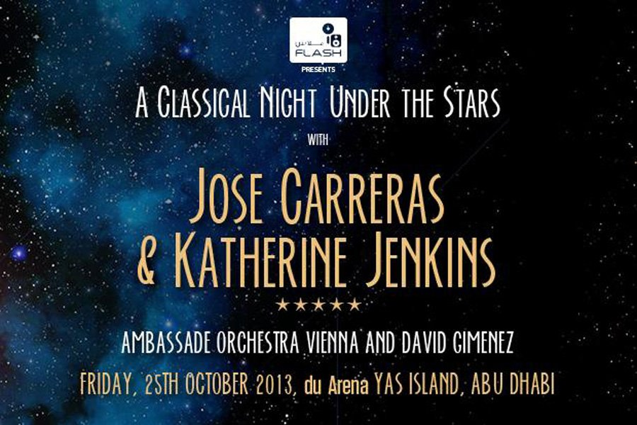 José Carreras and Katherine Jenkins: a classical night under the stars