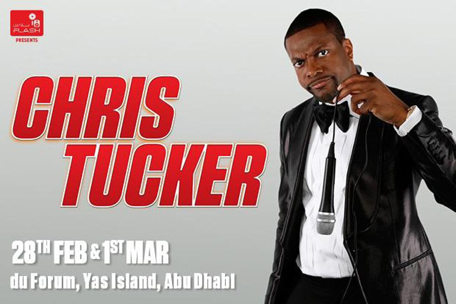 Laugh out loud with Rush Hour's Chris Tucker