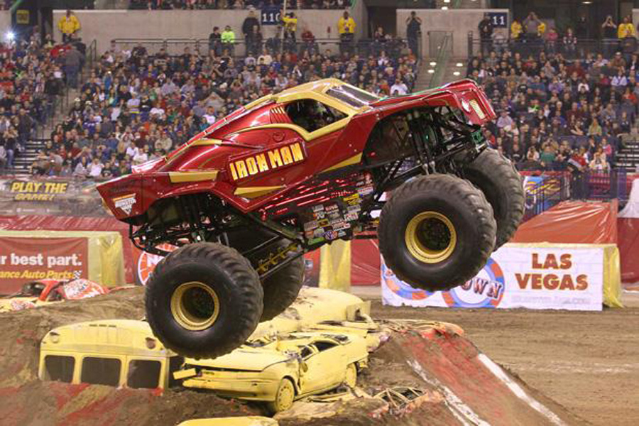 Monster Jam live in Abu Dhabi