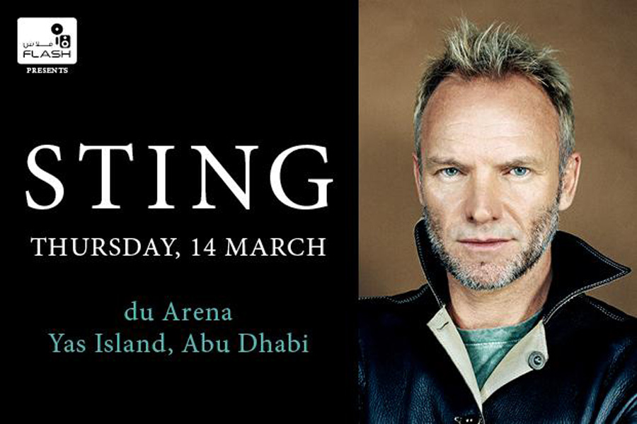 Sting LIVE on Yas